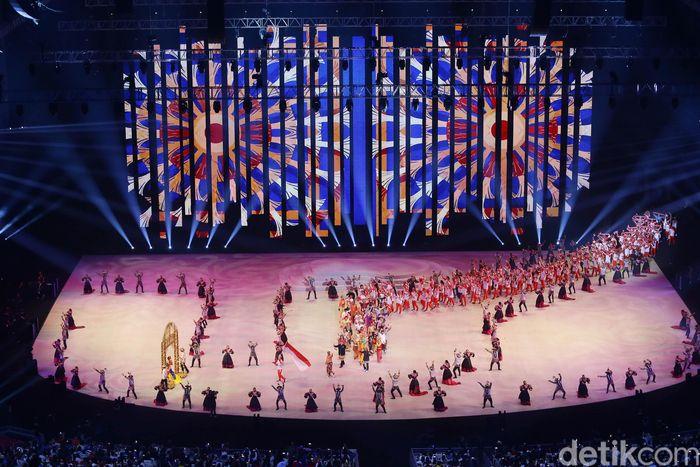 Pembukaan SEA Games 30th Filipina 2019 berlangsung di Philippina Arena, Sabtu (30/11/2019)