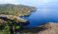 Kawasan pesisir Likupang