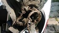 Kondisi Motor Mahasiswa yang Tewas Kecelakaan Saat Dinanti Ortu Wisuda