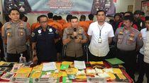 44 Pelaku Jaringan Narkoba di Pelabuhan Priok Digulung Polisi