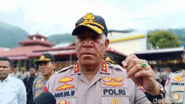 Kapolda Papua Irjen Paulus Waterpauw