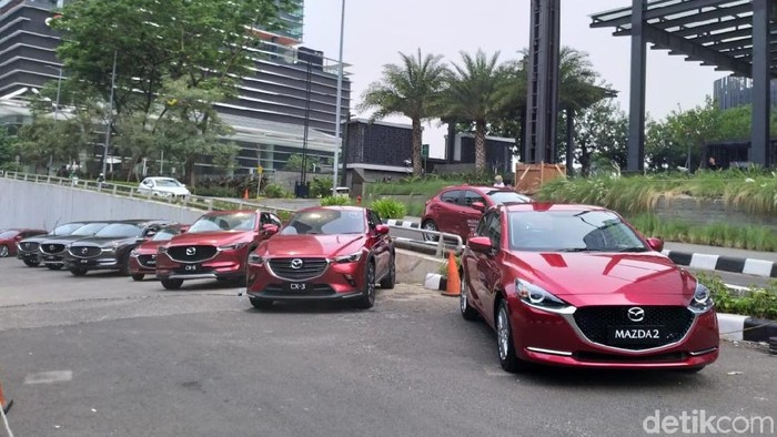 Mazda CX-8 test drive di Jakarta