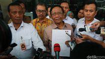Momen Mahfud Md Setoran LHKPN ke KPK