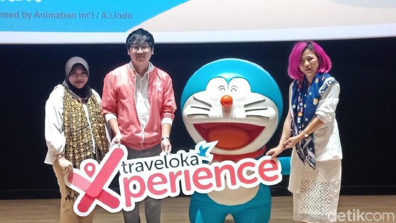 Ini Ragam Promo Bertema Doraemon dari Traveloka Xperience. (Foto: Putu Intan Raka Cinti/detikcom)