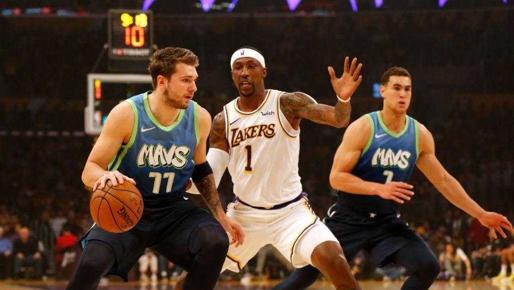 Laju Kemenangan Lakers Terhenti di Tangan Mavericks