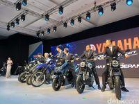 Yamaha kenalkan All New Yamaha Nmax, Yamaha XSR 155 dan WR 155R
