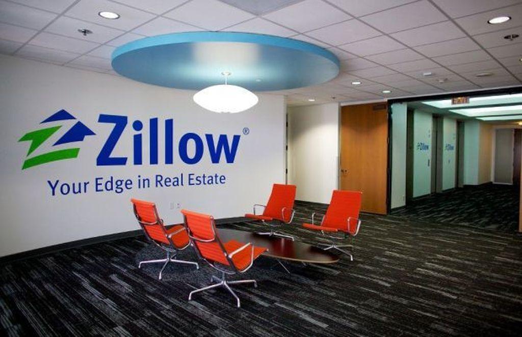 Zillow adalah perusahaan database real estate, lahir tahun 2004. Valuasi saat ini tembus USD 8,38 miliar, tapi tahun silam buntung USD 119,9 juta. Foto: istimewa