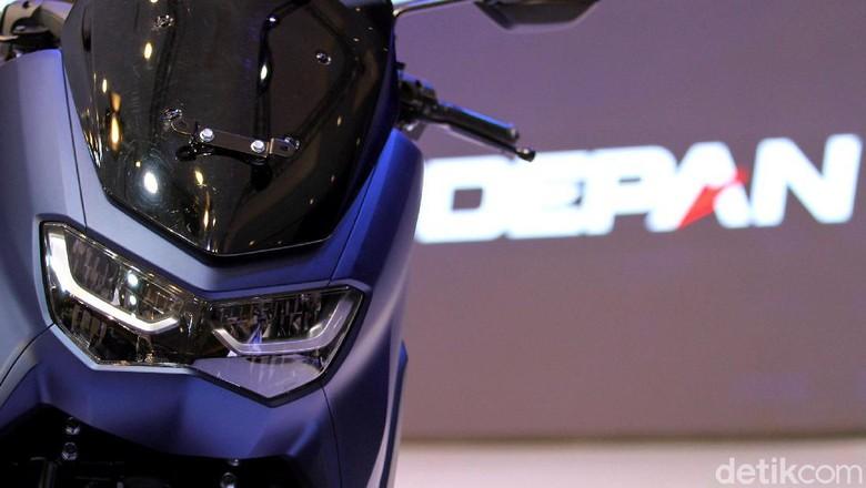 Lampu depan desain baru Yamaha Nmax Foto: Rifkianto Nugroho