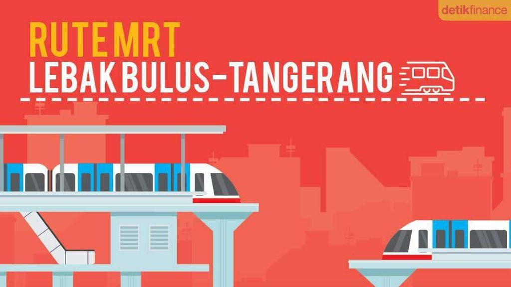 Bikin Penasaran, Ini Rute MRT Lebak Bulus-Tangerang Selatan