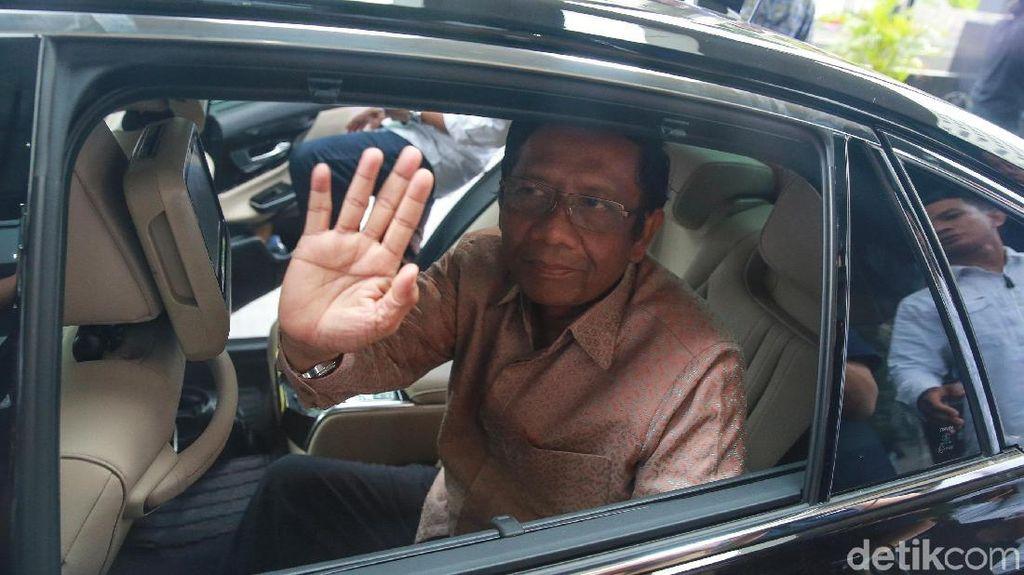 Mahfud Md di KPK: Tak Ada Bahas Perppu, Ini Hari Antikorupsi