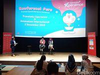 Doraemon Didaulat Jadi Ikon Promosi Traveloka Xperience