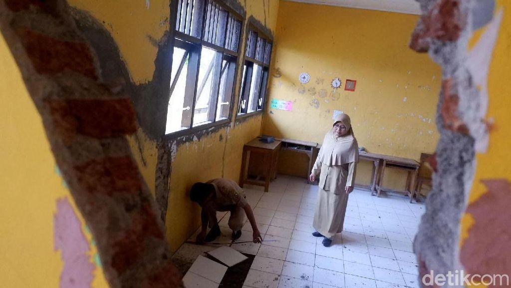 SD di Banjarnegara Rusak Akibat Tanah Gerak, Disdik Janjikan Perbaikan