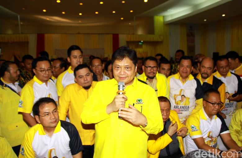 Dipimpin Airlangga, Golkar Selipkan 3 Kader di Kementerian Jokowi