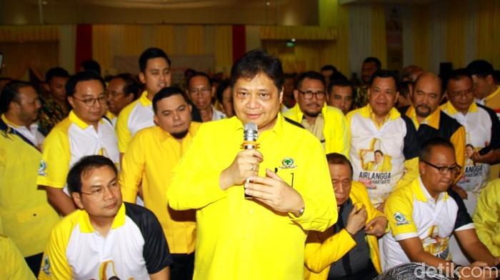 Foto: Airlangga Hartarto. (Lamhot Aritonang/detikcom).