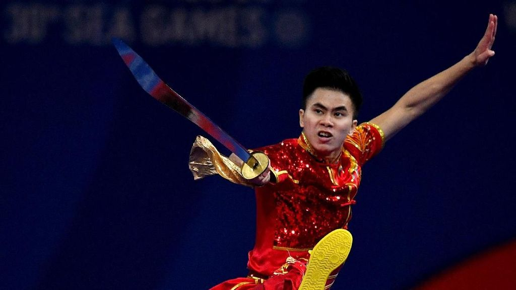 Indonesia Tambah Emas dari Wushu