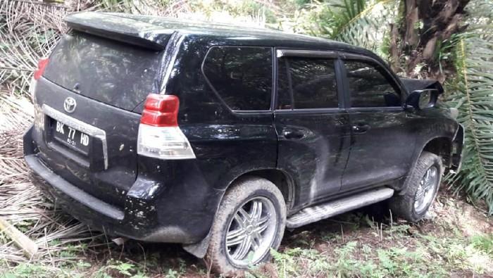 Mobil tempat jasad hakim Jamaluddin ditemukan (dok. Istimewa)
