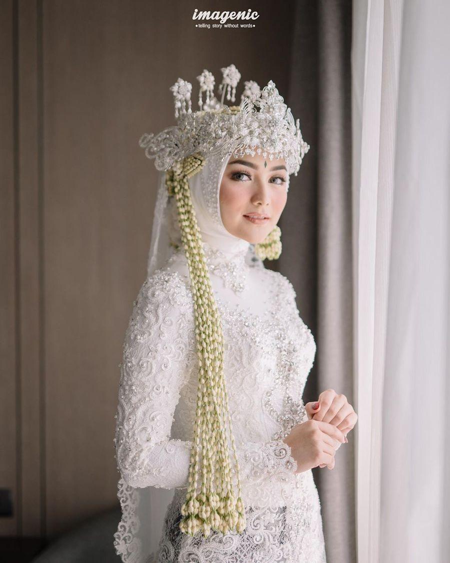 Foto: Penampilan Citra Kirana Jadi Pengantin Sunda, Cantik
