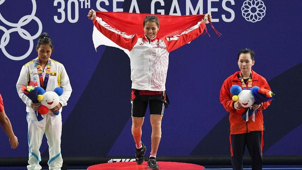 Windy Cantika tak menyangka Olimpiade 2020 ditunda. (