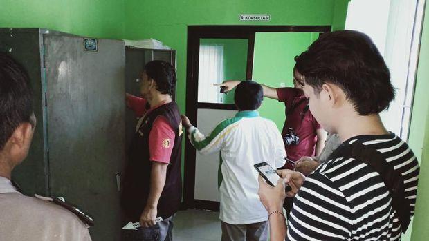 Kantor KUA Kecamatan Ngrampal Sragen Dibobol Maling.