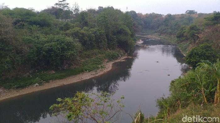 Sungai Cileungsi tercemar (Sachril Agustin/detikcom)