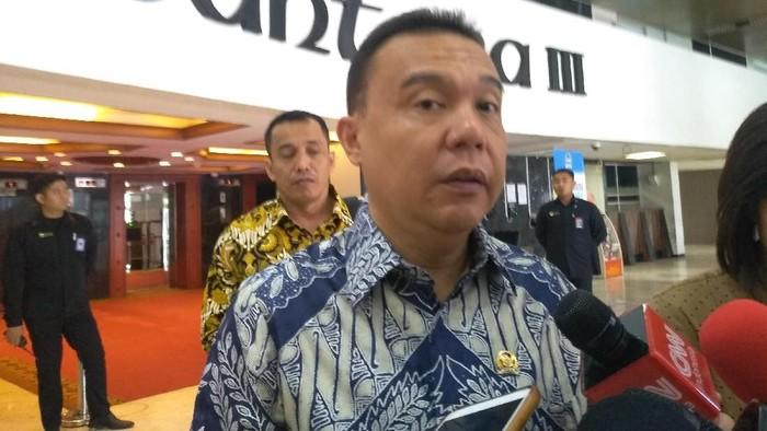Wakil Ketua DPR Sufmi Dasco (Nur Azizah-detikcom)