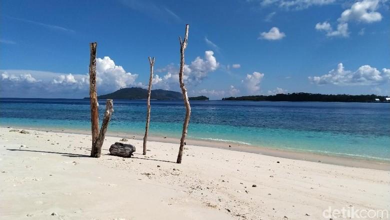 Selamat datang di Pulau Lihaga (Afif Farhan/detikcom)