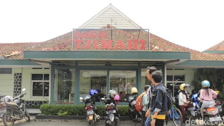 Hotel Tjimahi yang dulu pernah ditinggali keluarga Ani Yudhoyono. (Foto: Yudha Maulana/detikcom)