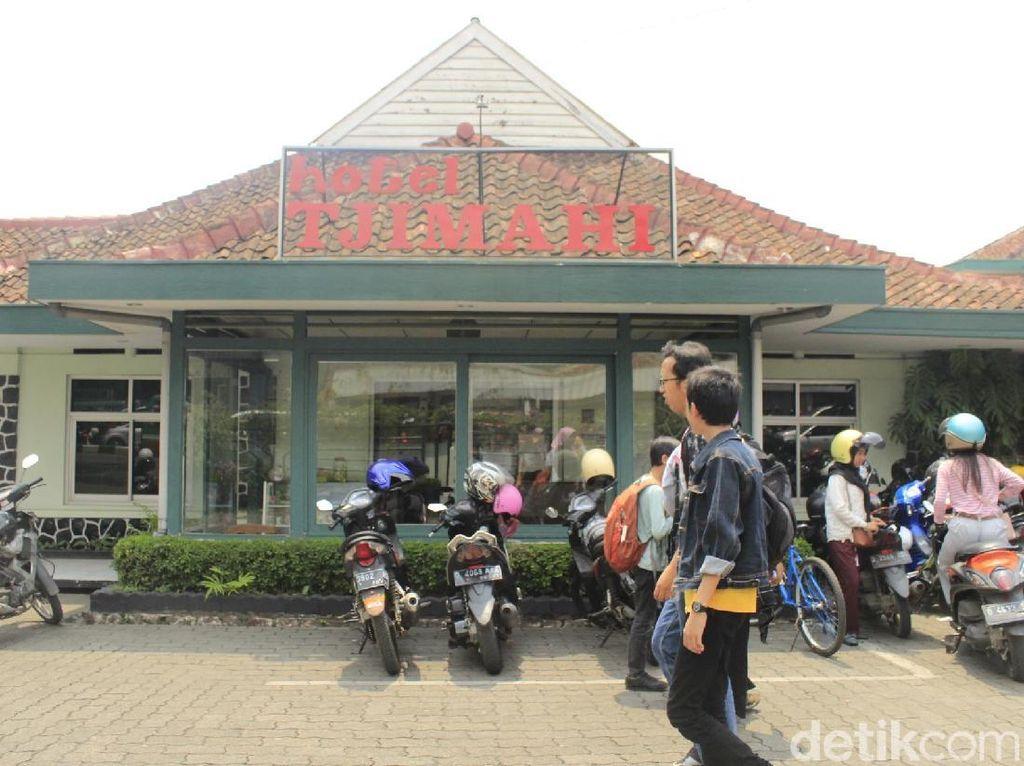 Hotel Tjimahi. (Foto: Yudha Maulana/detikcom)