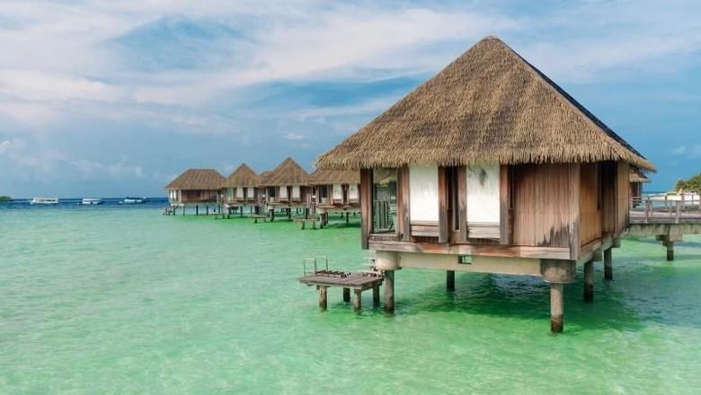 Ilustrasi Maldives (Yasa Sidik Permana/dTraveler)