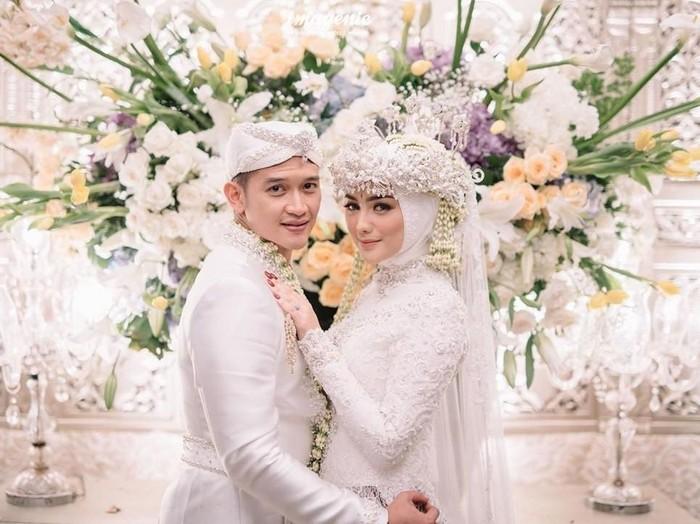 citra kirana saat menikah