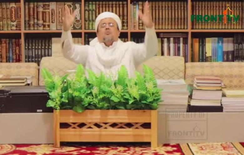 Habib Rizieq: Pemerintah Bikin Sinetron Pengasingan dengan Kemasan Pencekalan
