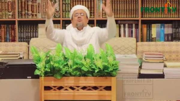 Video Habib Rizieq Terkejut Disebut Tak Lapor Soal Pencekalan