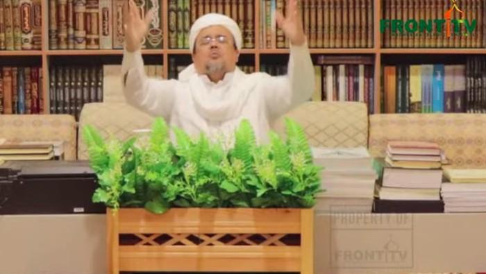 Foto: Habib Rizieq/Dok Youtube Front TV