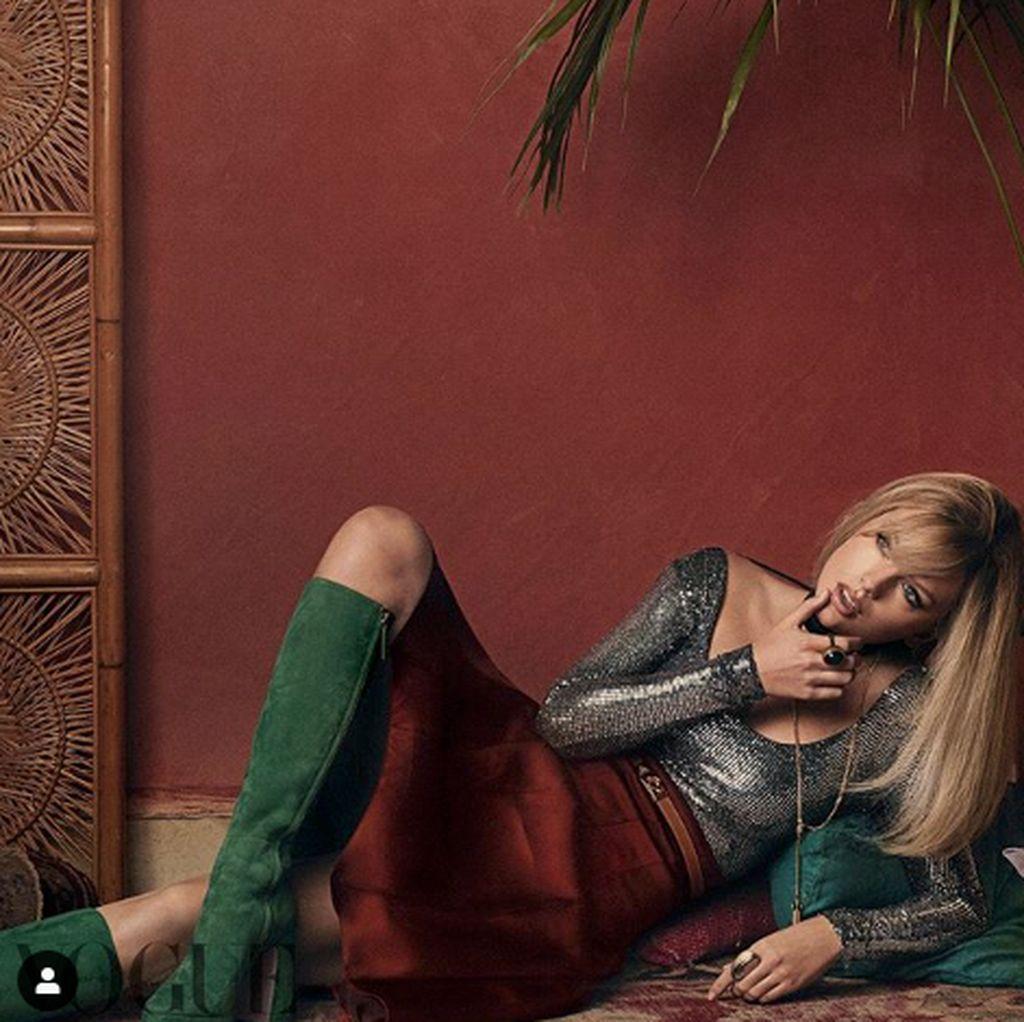 Demi Joe Alwyn, Taylor Swift Rela Bolak-balik London