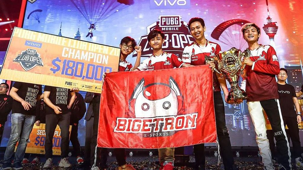 Membanggakan! Tim Indonesia Juarai Turnamen PUBG Mobile Dunia