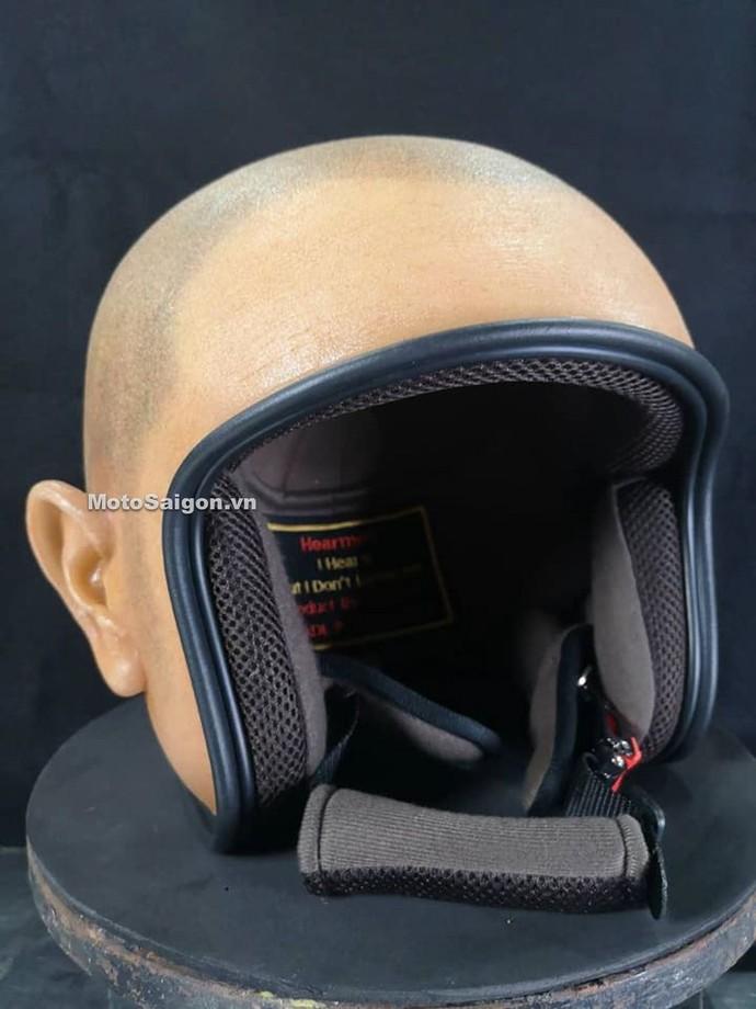Helm Unik Bentuk Kepala Botak
