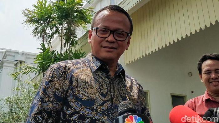 Menteri Kelautan dan Perikanan Edhy Prabowo/Foto: Andhika Prasetya/detikcom`