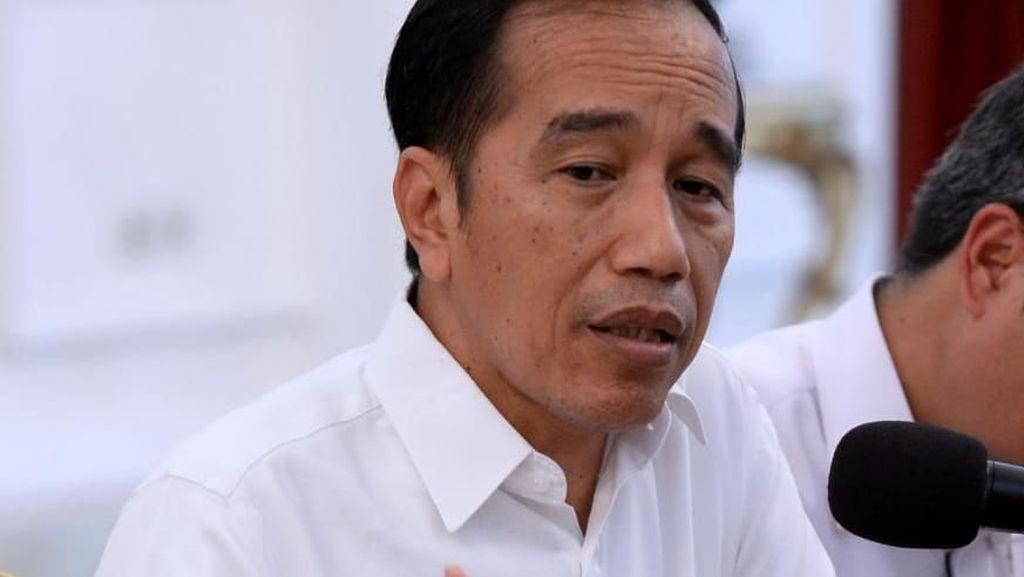 Jokowi Puji Erick Thohir Copot Dirut Garuda