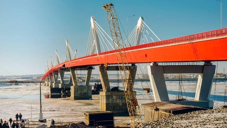 Jembatan China-Rusia di Kota Heihe dan Blagoveshchensk (CNN)