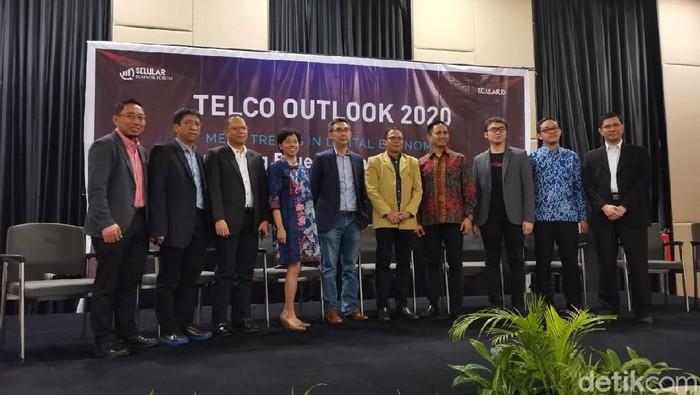 Telco Outlook 2020 (Aisyah Kamaliah/detikcom)