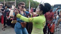 Keseruan Acara Jalan-jalan Para Dubes dan Keluarga ke Brebes