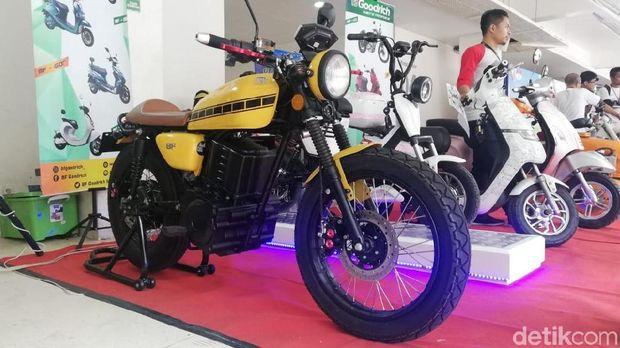 Goodrich, motor listrik buatan Semarang.