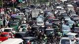 Potret Kemacetan di Kawasan Gambir Usai Reuni 212