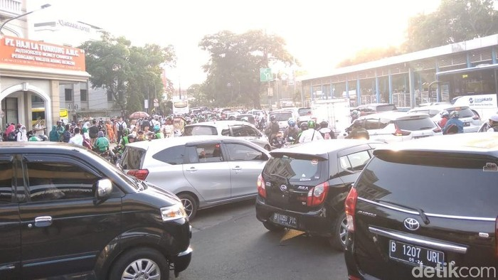 Foto: Kondisi di Juanda pagi ini (Kadek/detikcom)