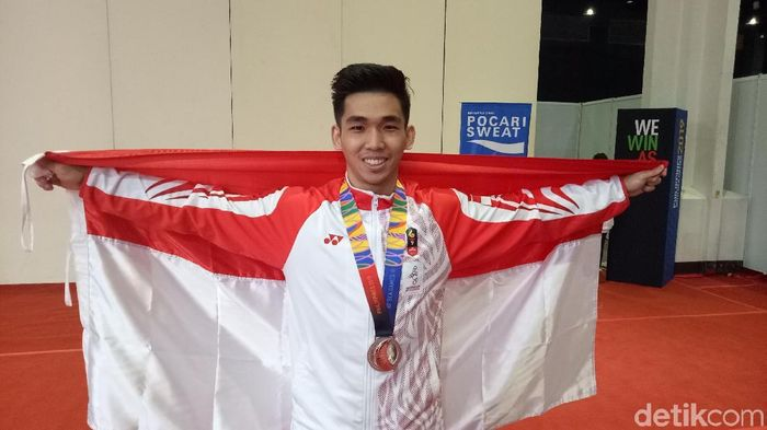 Harris Horatius raih perak SEA Games 2019. (Randy Prasatya/detikSport)