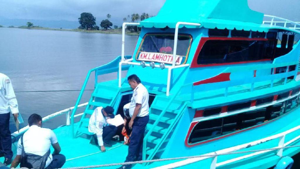 Jelang Natal Tahun Baru, Kemenhub Ukur Ulang Kapal di Danau Toba