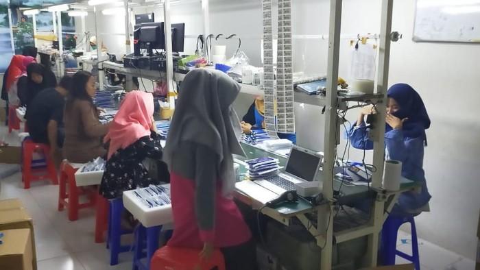 Pabrik ilegal di Jakarta Utara. (Foto: dok. ist)