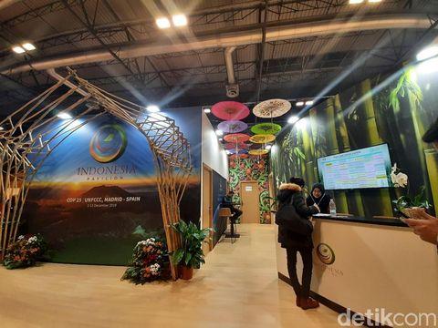Bambu jadi pilihan utama instalasi di Paviliun Indonesia