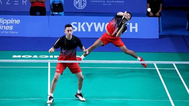 Fajar/Rian jadi andalan Indonesia di nomor ganda putra pertama pada final SEA Games.