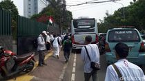 Massa Reuni 212 Bubar, Lalin Tanah Abang-Abdul Muis Padat